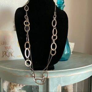 Coldwater Creek Circle Necklace